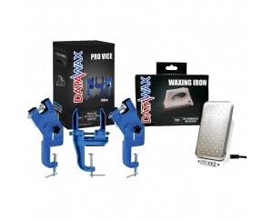 DataWax Vice and Iron Combo (inc. plug converter)
