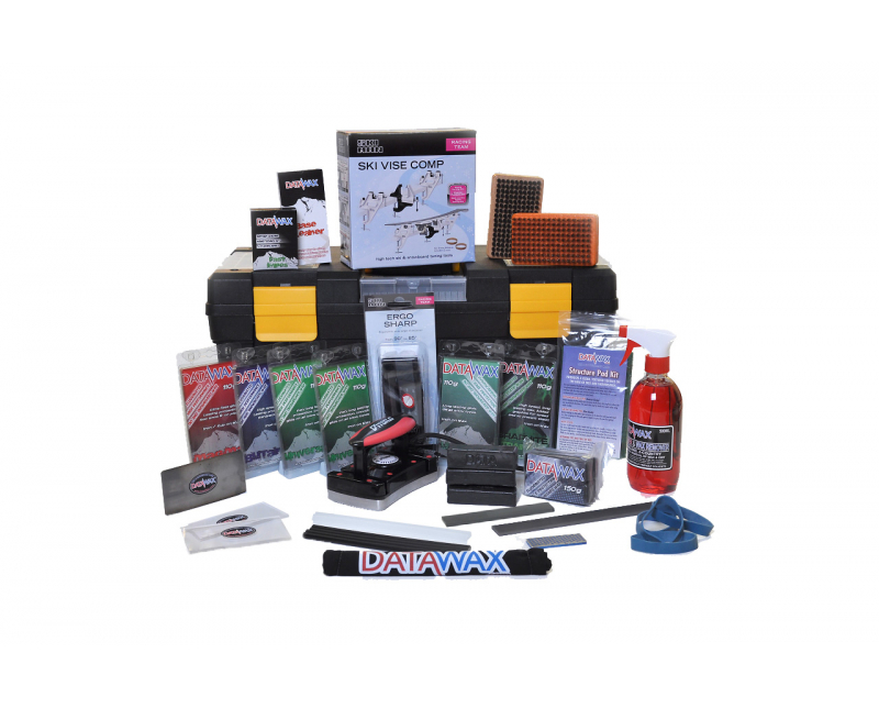 25-Piece Riders Complete  Ski and Snowboard Tuning and Servicing Kit